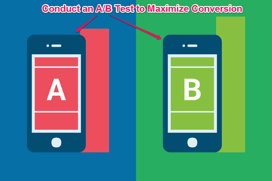 A/B Test Your Landing Page