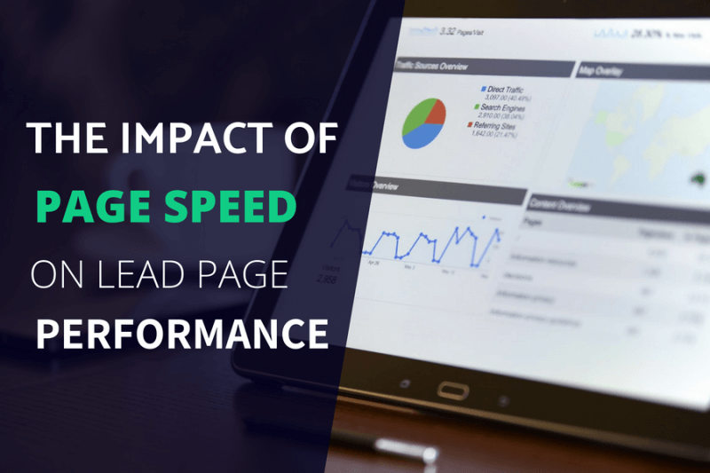 The Impact of Page Speed on Lead Page Performance