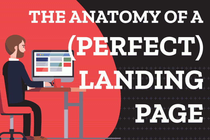The Anatomy Of A (Perfect) Landing Page [Infographic]