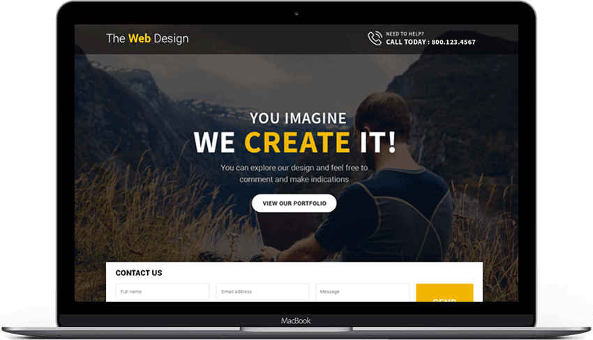 Best Responsive Web Design Landing Page